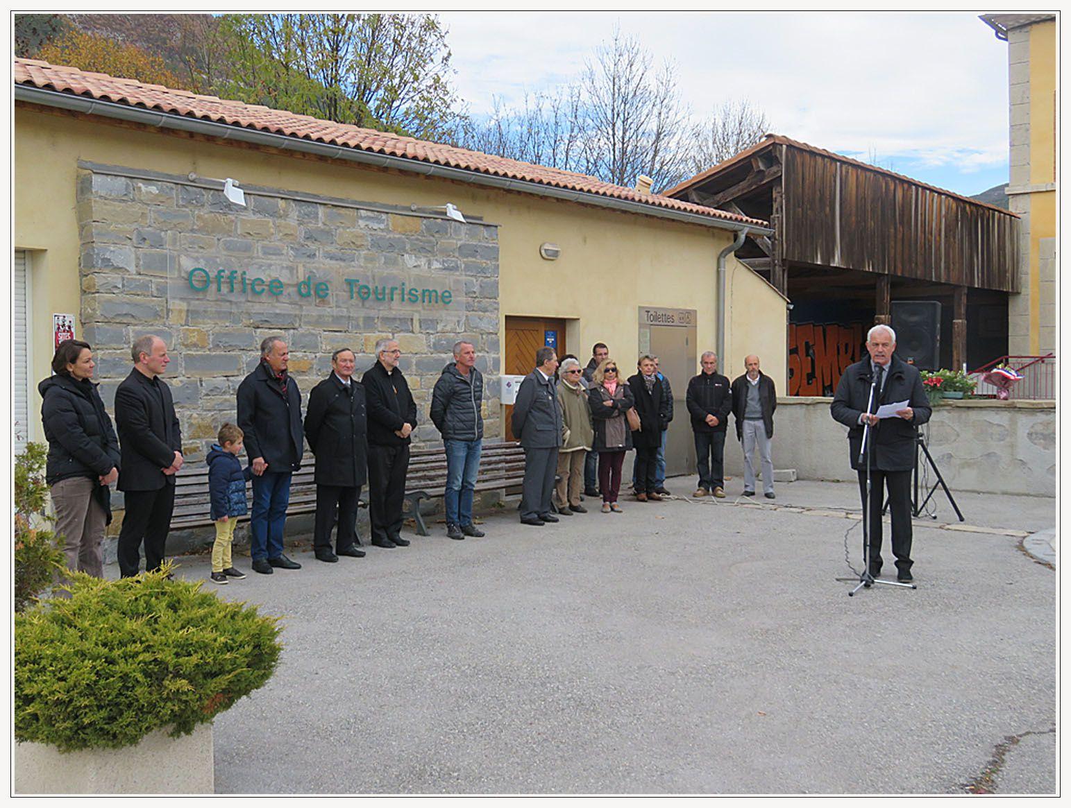 Saint André les Alpes : Armistice rime avec sacrifice