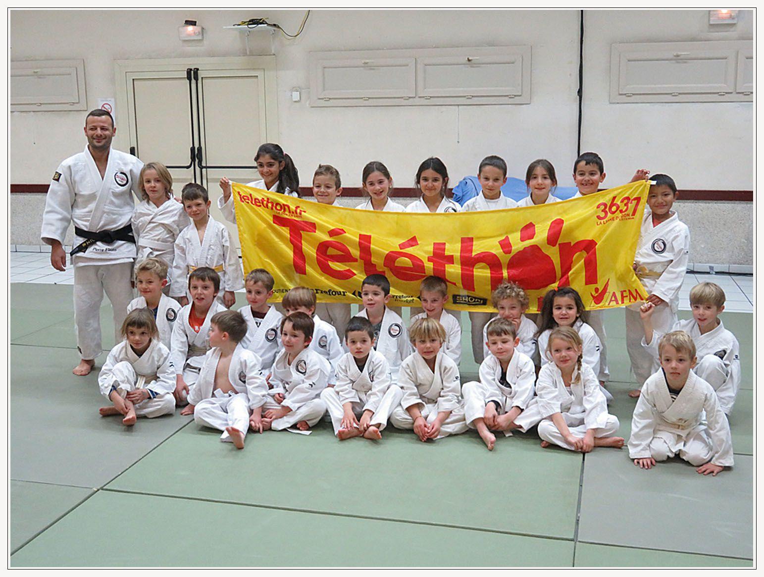 Saint André les Alpes : Quand le judo s'allie au Téléthon