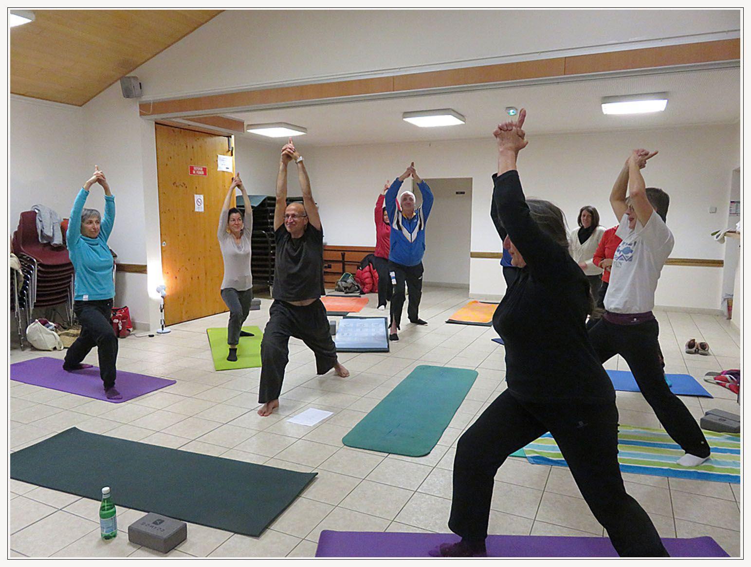 La Mure-Argens : Le yoga c'est du gâteau !