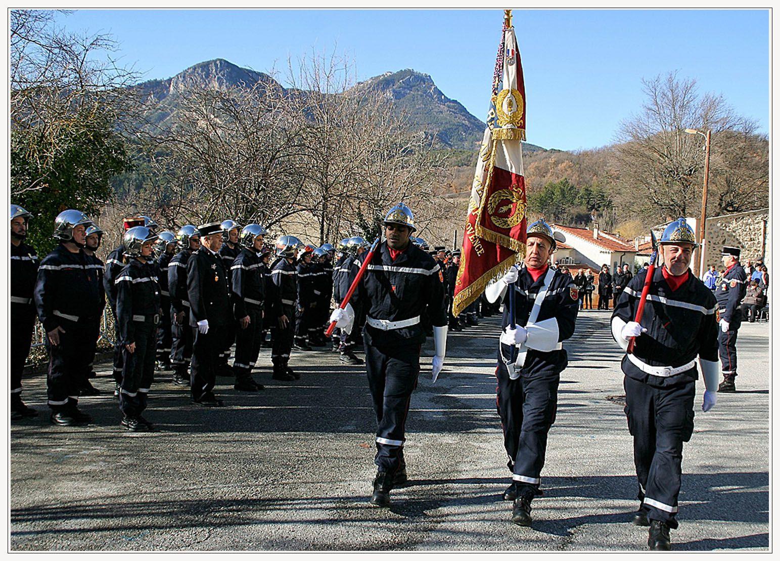Castellane  ; La sainte-Barbe des sapeurs pompiers de Castellane