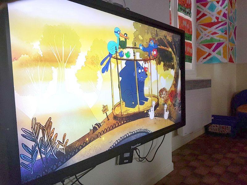 Barrême le court métrage s'invite à la maternelle