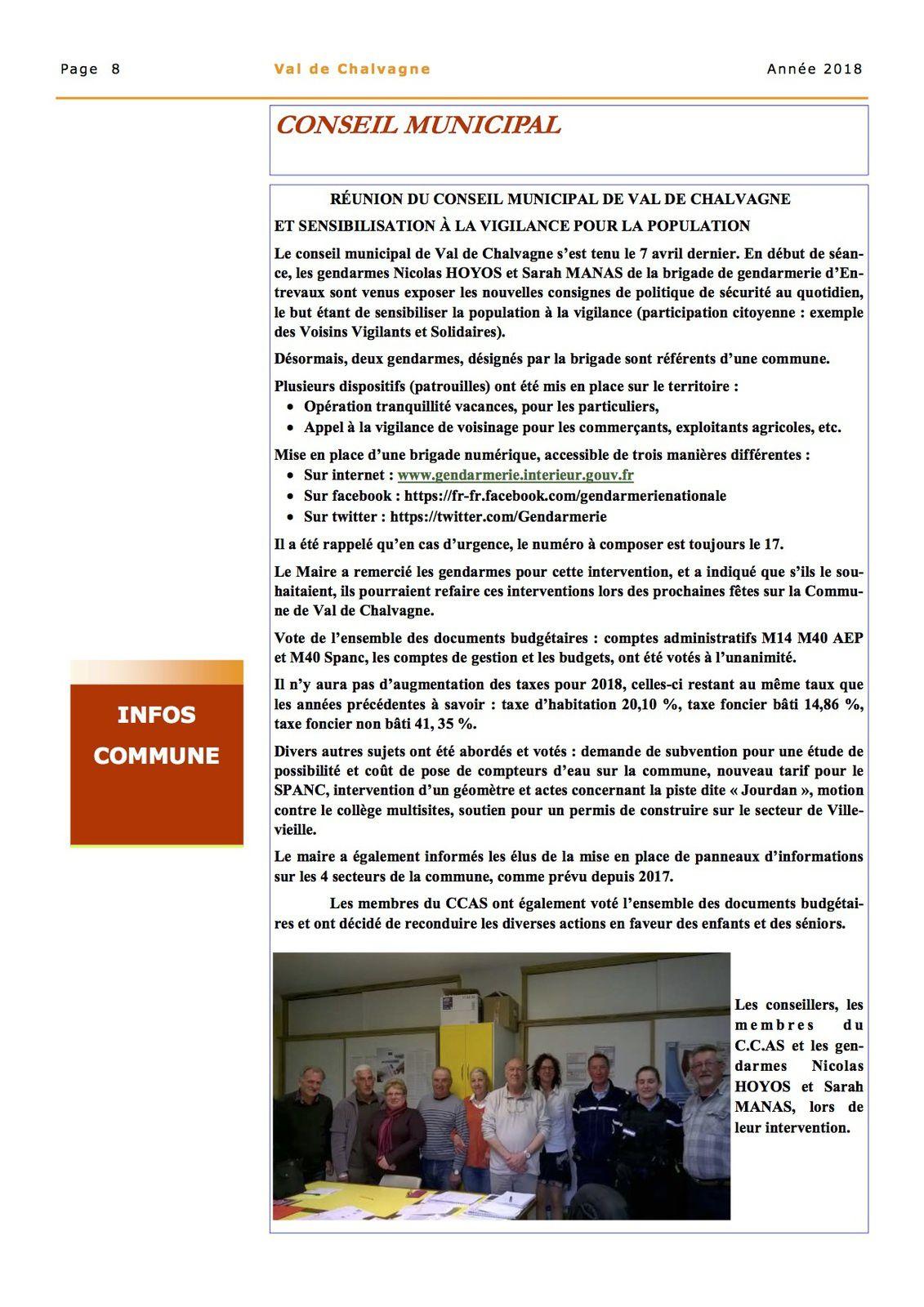 Le bulletin de Val de Chalvagne n° 32