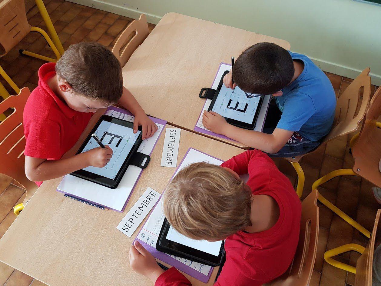 À Barrême, l'école Victor Hugo est entrée de plain-pied dans l'ère numérique.