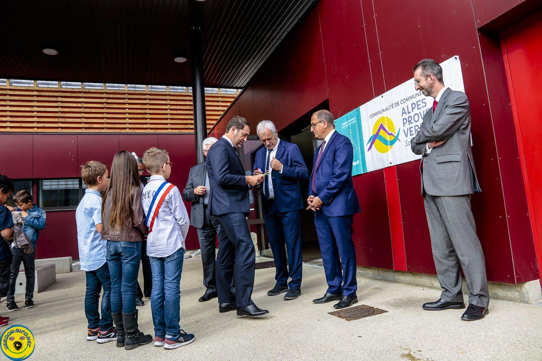 Inauguration Gymnase Gilbert Sauvan Castellane