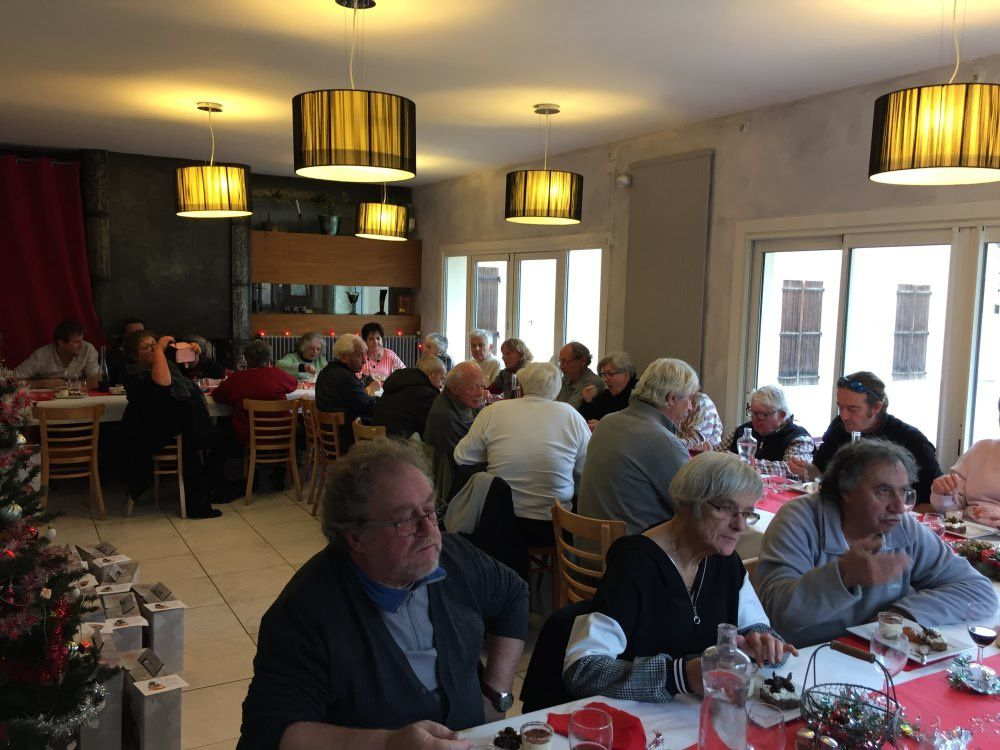 St Julien du Verdon  ; Repas de Noël pour les ainés et les employés et le conseil municipal