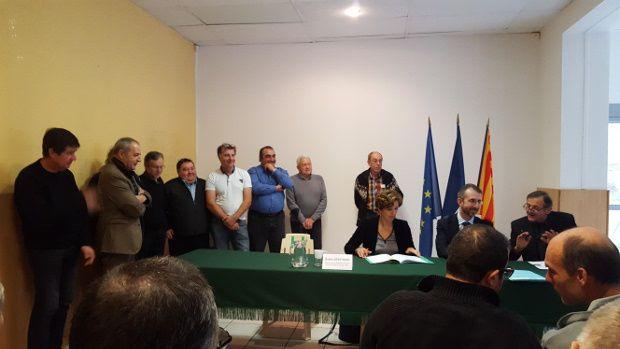 Bras d'Asse, Barrême signature du contrat de rivière