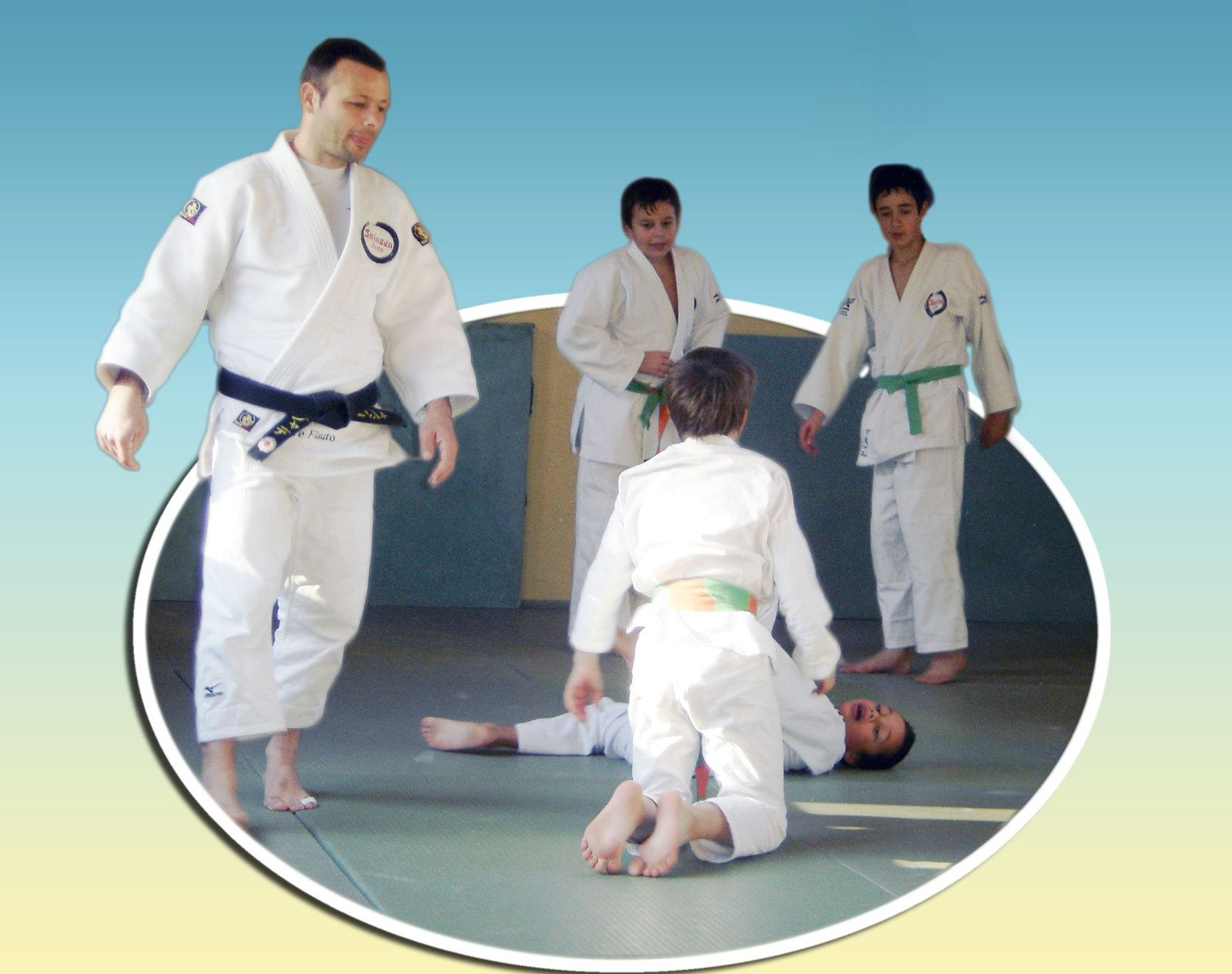 Barrême Judo: les champions de demain s'entraînent aussi à Barrême