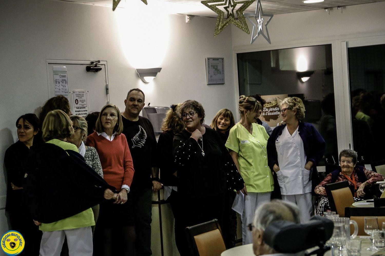Saint André les Alpes : Vœux 2019 pour les résidents des Carlines