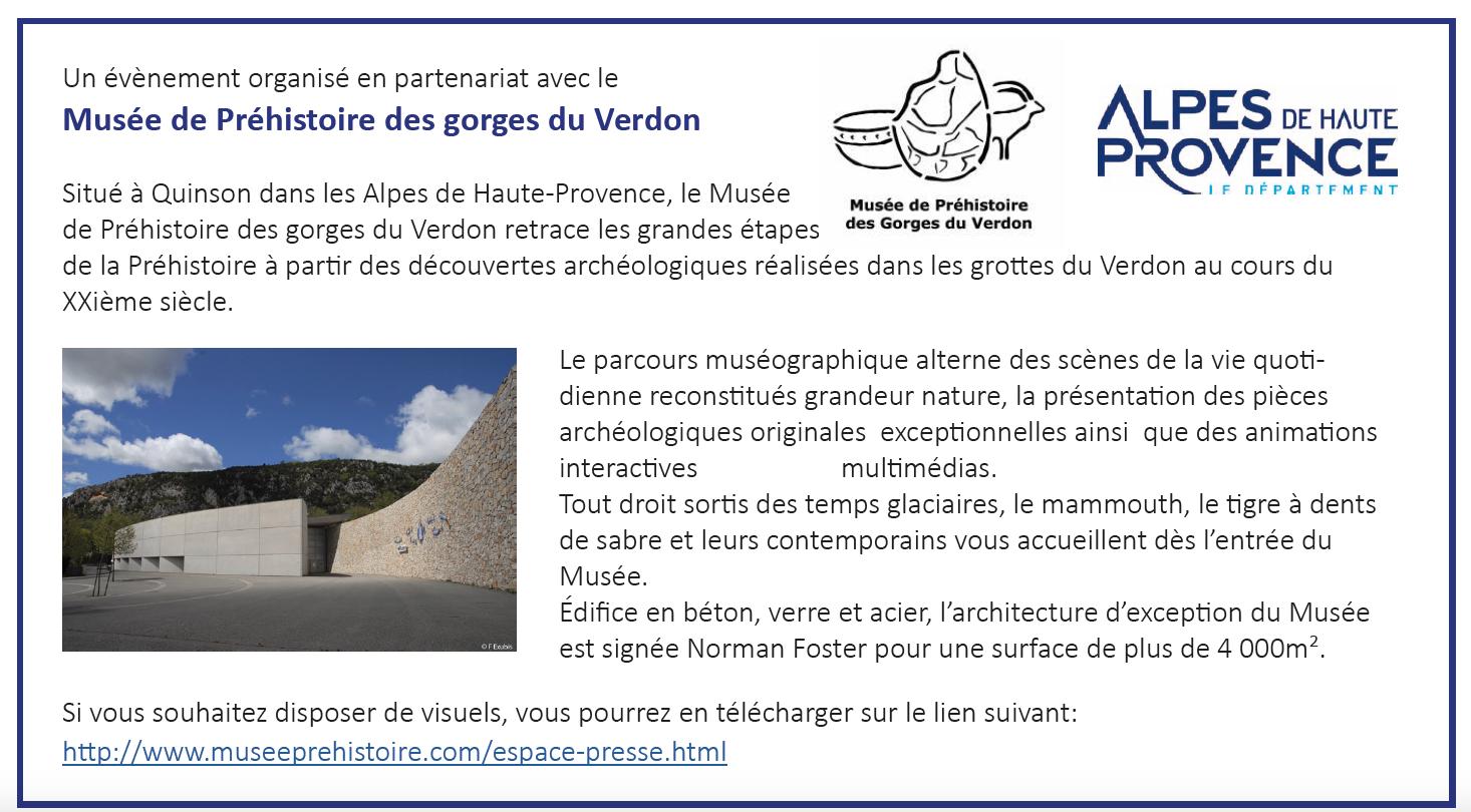 Forum des entreprises marquées Valeurs Parc à Quinson le 5 et 6 mars