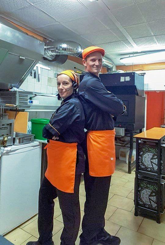 Pizzeria O'DELTA : Steph et Naty à la barre !!