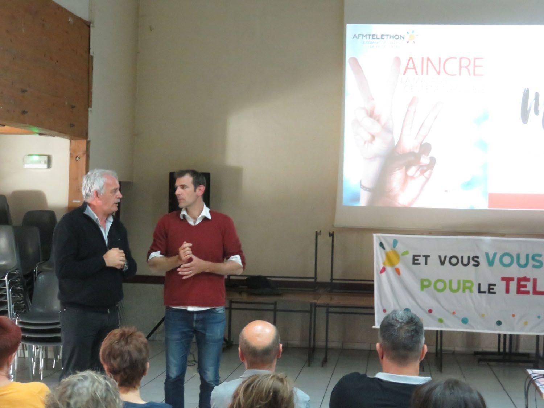 Saint André les Alpes: Remerciements départementaux pour le Téléthon