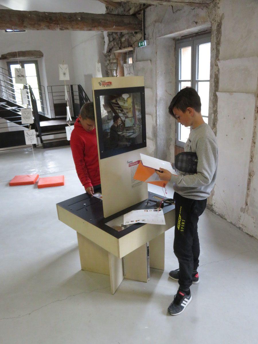 La Mure-Argens: Les scolaires visitent l'expo du musée