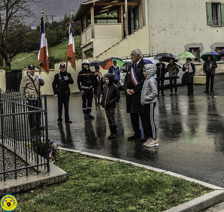 La Mure Argens : Commémoration  du 8 mai