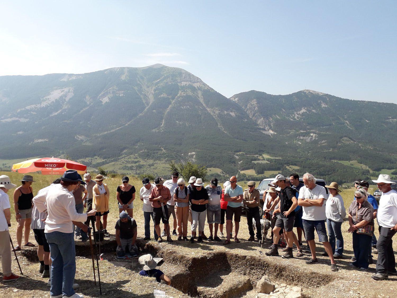Thorame Basse :  Rencontre archéologique