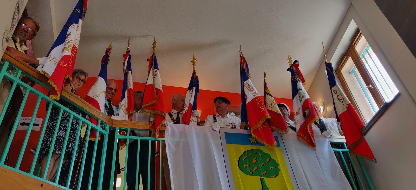 Barrême 75 éme anniversaire: cérémonie émouvante