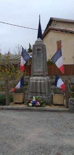 Tartonne  : cérémonie du 11 novembre