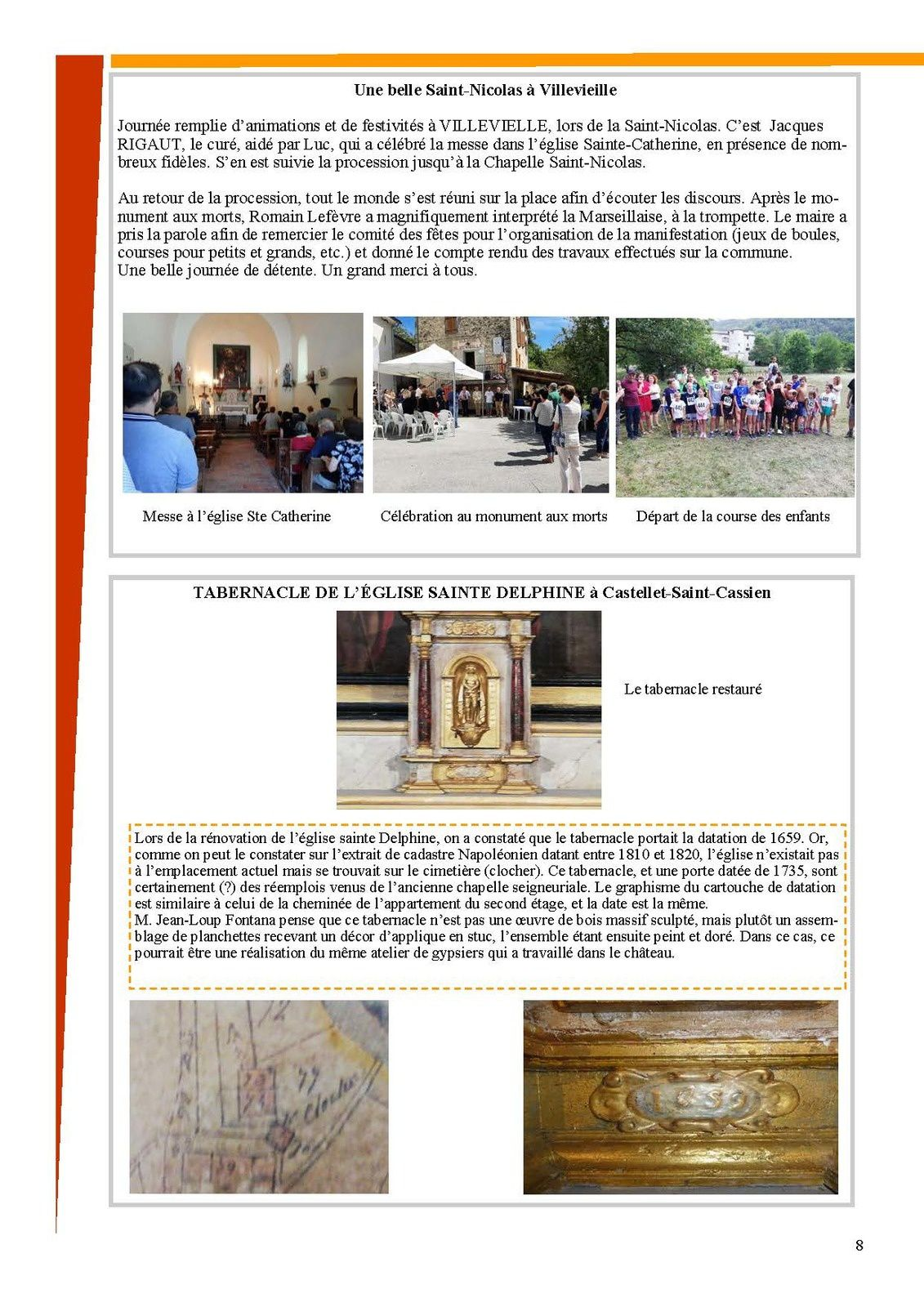 Le bulletin de Val de Chalvagne édition 2019