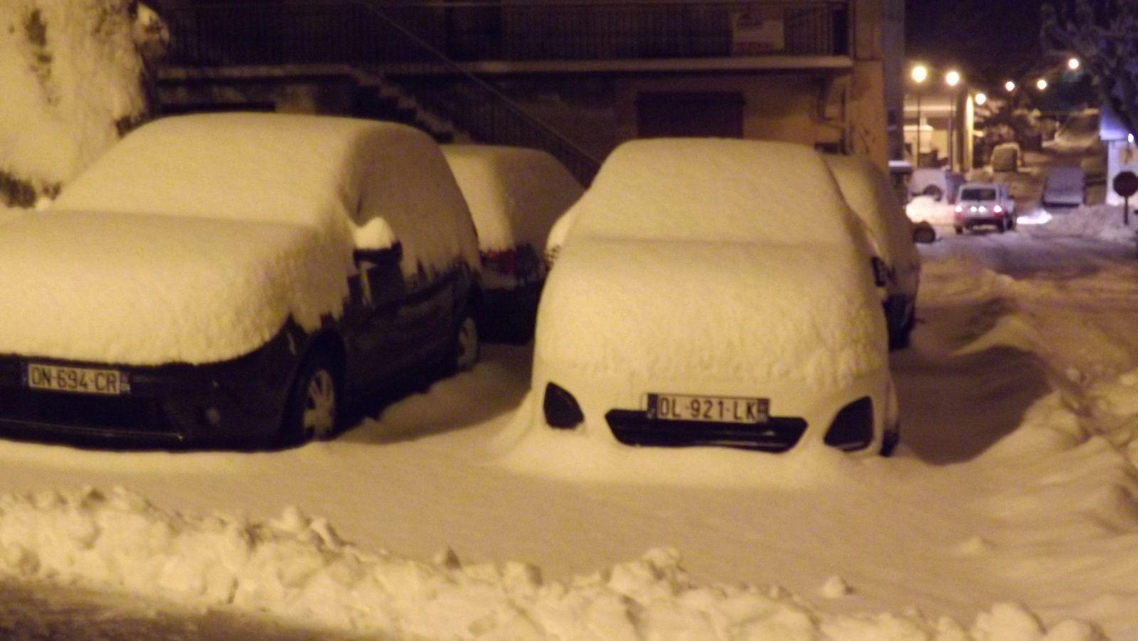 Barrême neige