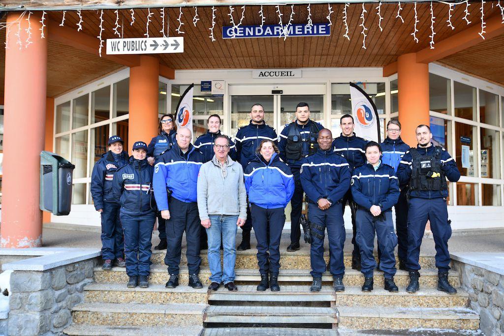 Val d'Allos-La Foux, La gendarmerie en poste à La Foux