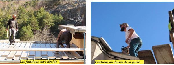 Allons  : refection de la toiture de l'église