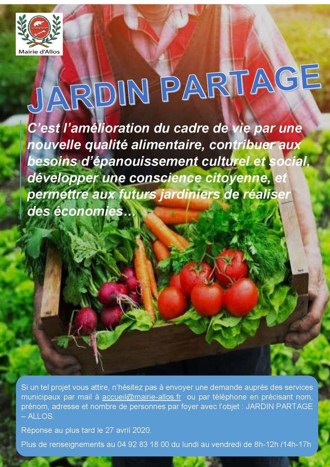 Allos  : Jardins partagés