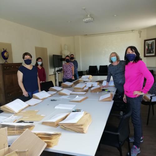 Castellane  : Distribution de masques par la mairie