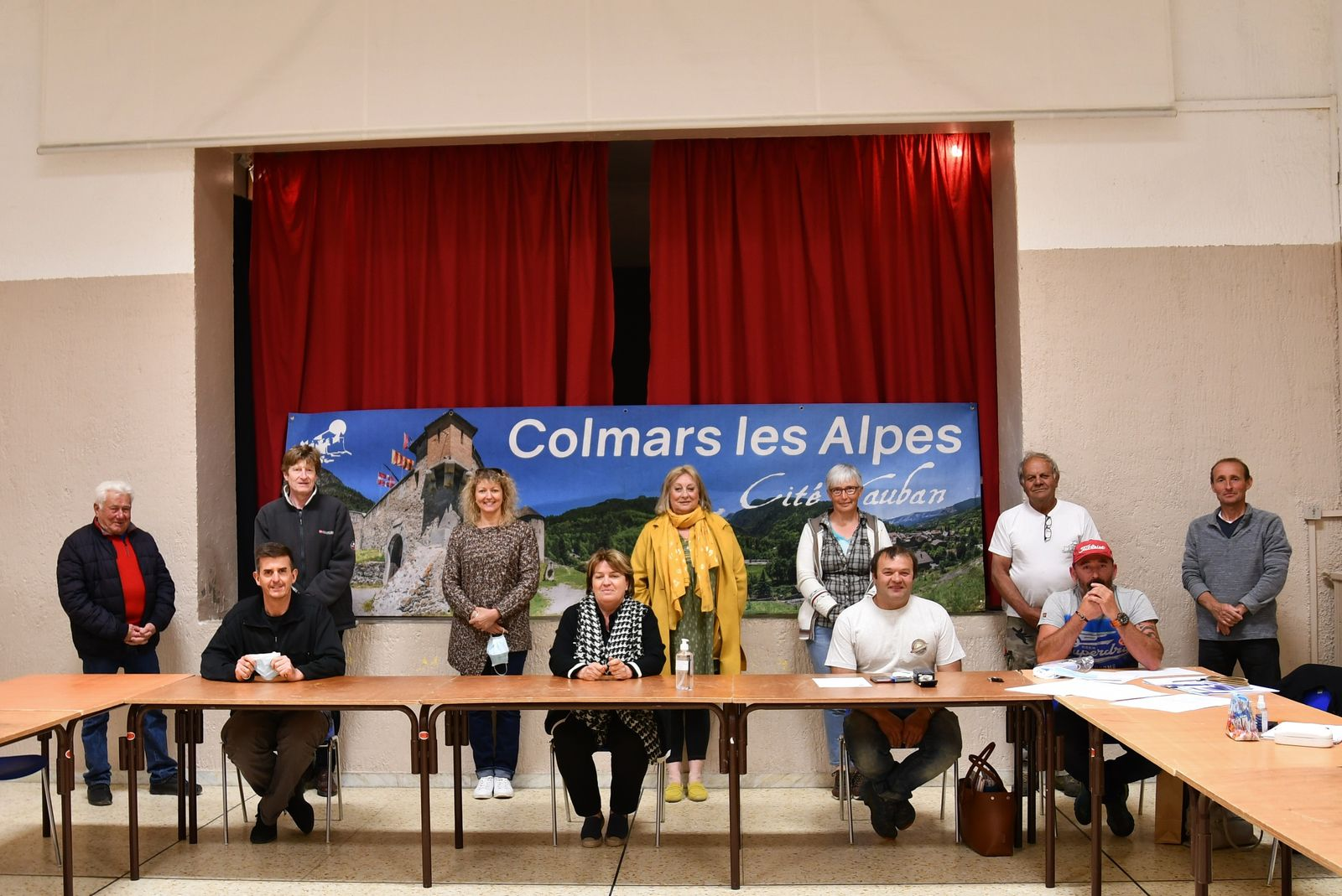 Colmars les Alpes, Election du maire