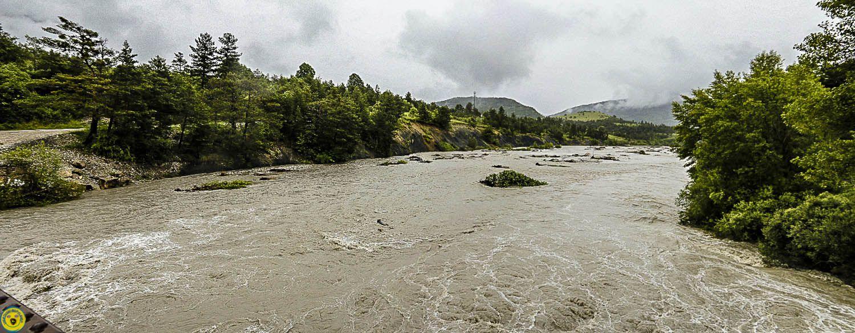 La Mure-Argens : Episode pluvieux du 4 juin