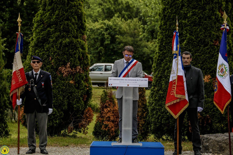 Saint Julien du Verdon commémore ces 11 martyrs fusillés en plein champ