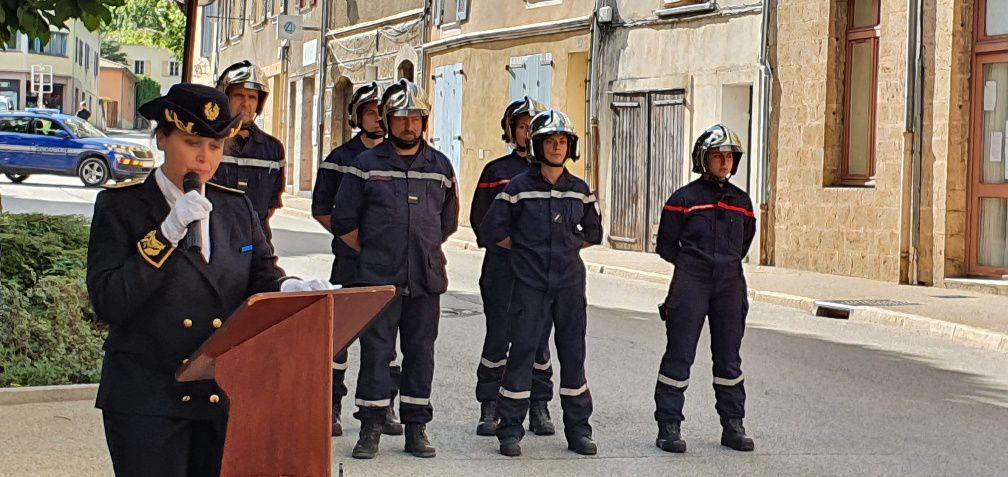 Castellane commémoration 18 juin