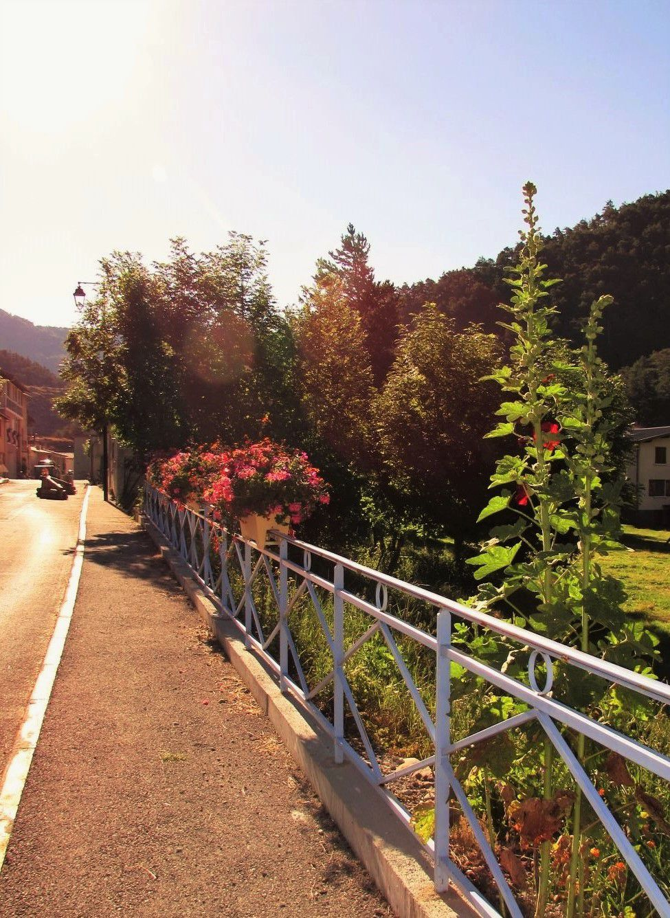Allons  ; Village fleuri