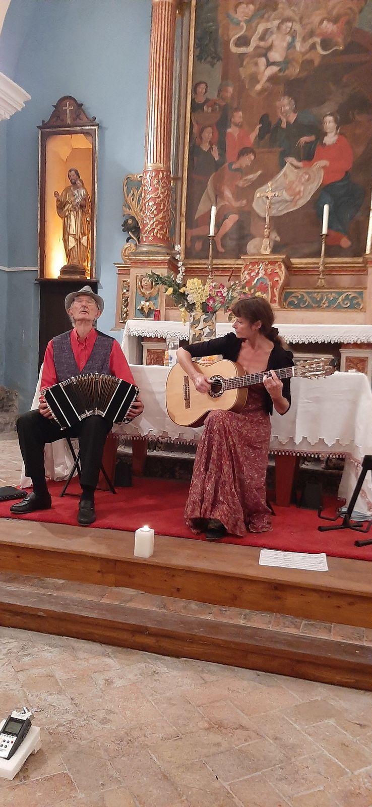 Beauvezer la soirée Tango avec Dyno Nego et Mylène Lorion