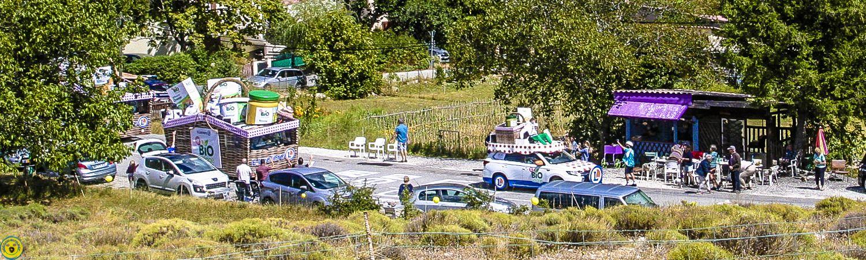 Castellane :Tour de France de passage au col des Lèques