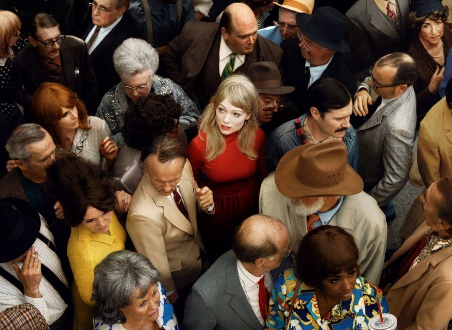 """Que d'êtres rencontrés dont nous n'avons pas croisé le regard !... - Photo : """"les foules"""" d'Alex Prader -"""