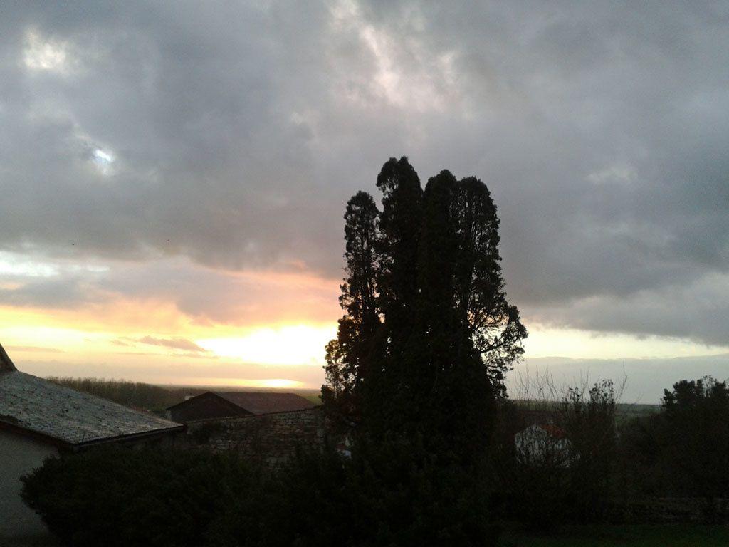Ciel du 2 janvier à 17 H.