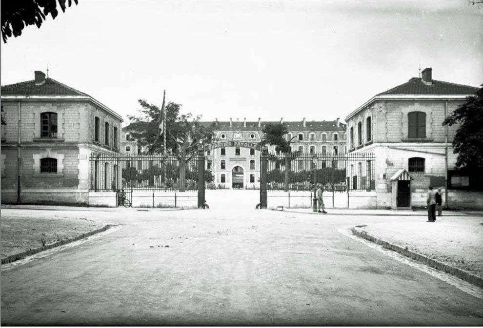 Quartier Fayolle - boulevard Liedot à Angoulême.