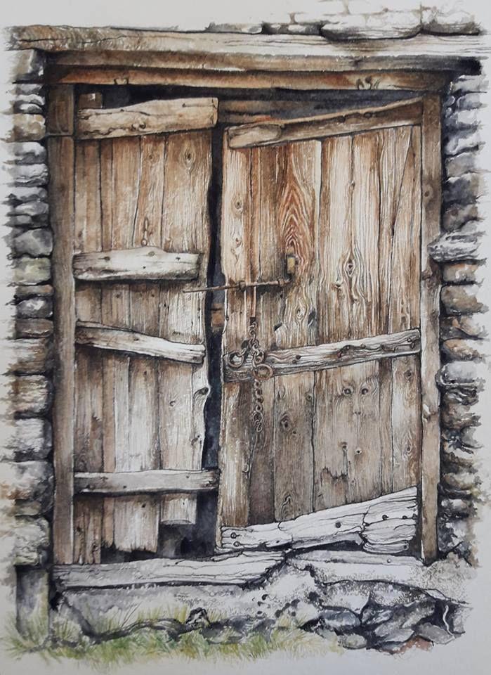 les portes d'avant Aquarelles