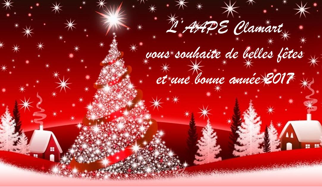 Bonnes vacances et bonnes fêtes de fin d'année