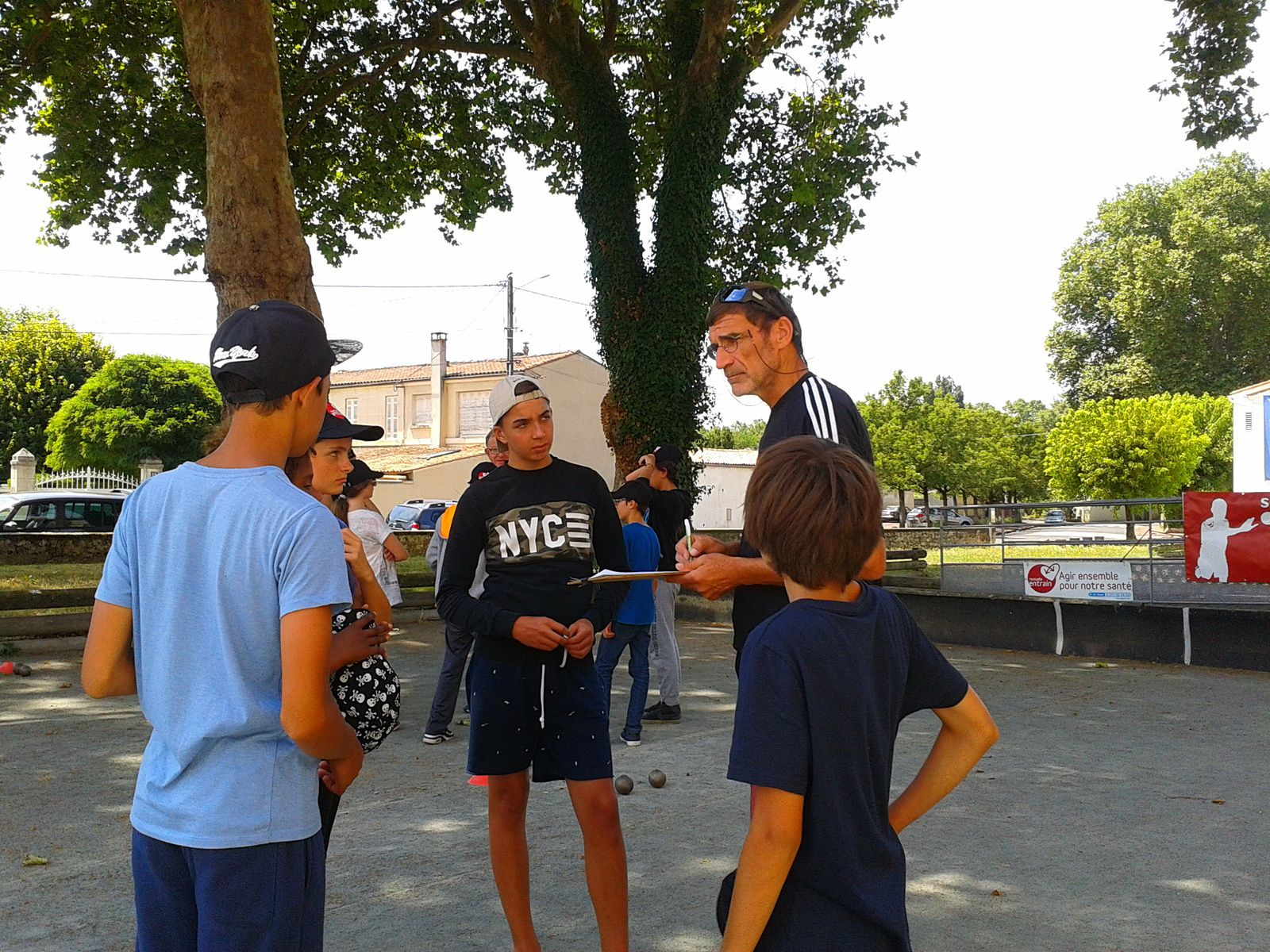 2016.07.27 Initiation pour 20 jeunes du Centre de Loisirs SNCF et du Secours Populaire Français