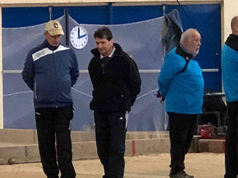 2018.01.27 Les 2 équipes Saintaises  d'A. S. jouaient à Saintes