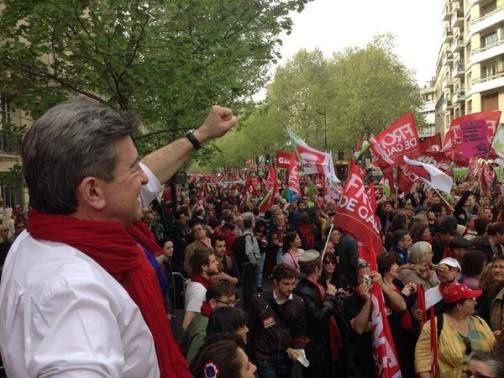 Avec le 12 avril.... l'opposition de gauche et l'alternative politique se construisent pas à pas !