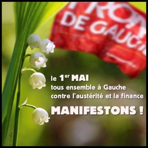 1er MAI 2014 : ensemble contre l'austérité !
