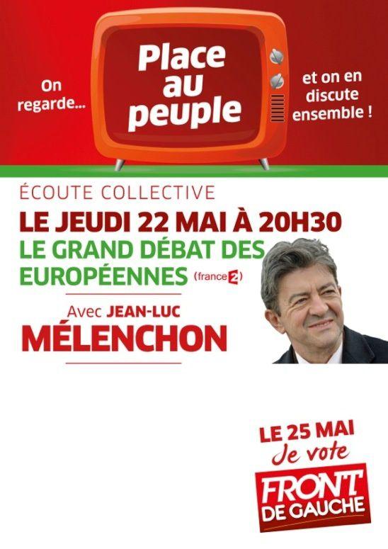 Grand débat des européennes, Jeudi 22 mai !