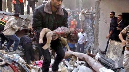 Halte à la terreur et au massacre du peuple palestinien !