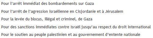 Samedi 26 juillet à La Rochelle : amplifier la mobilisation pour GAZA et la Palestine
