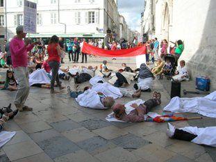 Pour la décolonisation et la paix en Palestine de nouveaux rassemblements à La Rochelle