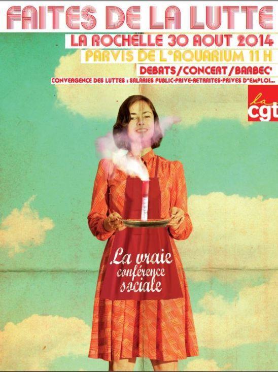 30 Août - La Rochelle - Journée d'action CGT
