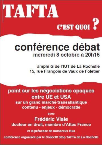 Grand marché transatlantique PARLONS-EN à La Rochelle, mercredi 8 octobre
