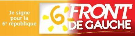 Réflexions : articulation entre le mouvement pour la 6ème République et le Front de Gauche.