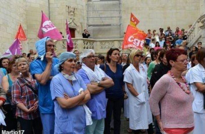 Hôpital de la Rochelle : NON à la saignée... une autre politique est possible.